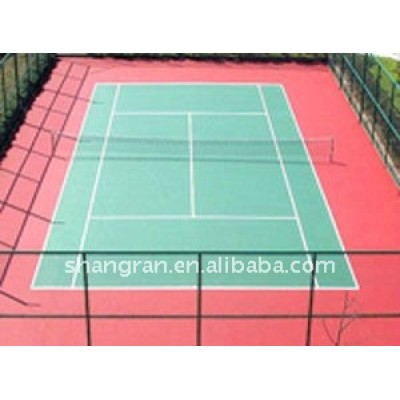 Hot!!! pu sport courts