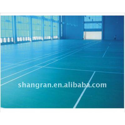Anti-slip sports court badminton rubber court
