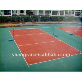 badminton construccion de pistas