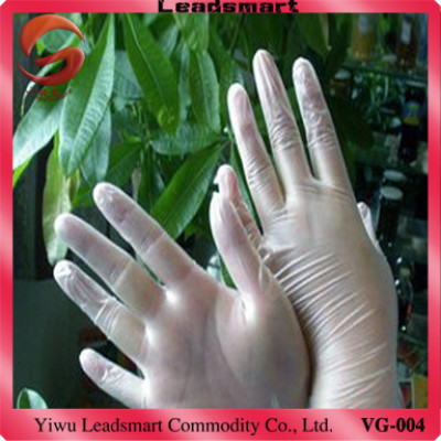 disposable vinyl examination gloves for medical with CE
