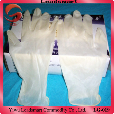 Hot!!! 9 inch disposable textured cheap latex gloves