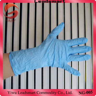 powder free disposable nitrile gloves for examination with CE