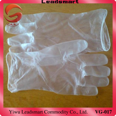 Professional supplier medical vinyl gloves 9 inch