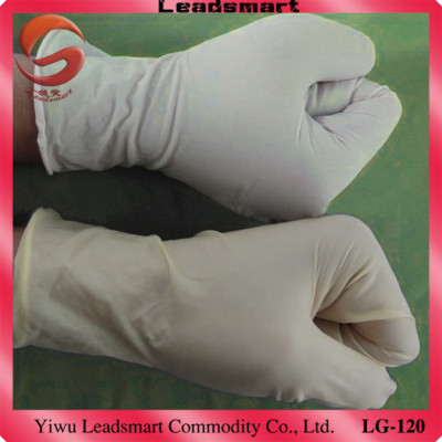 non sterile disposable latex gloves with CE,ISO and FDA