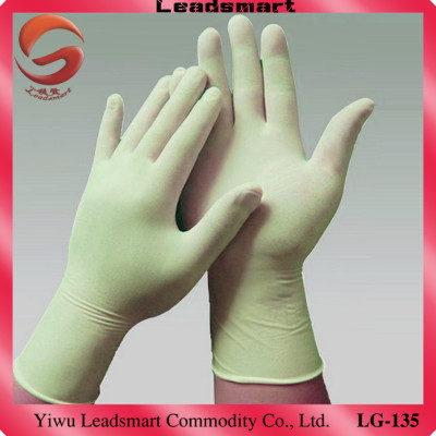 Best hot Food Processing latex gloves with customer's logo