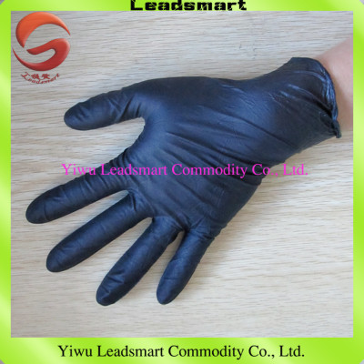 black nitrile gloves for moderate price, high quality