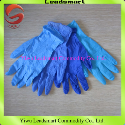 nitrile examination gloves for moderate price, high quality