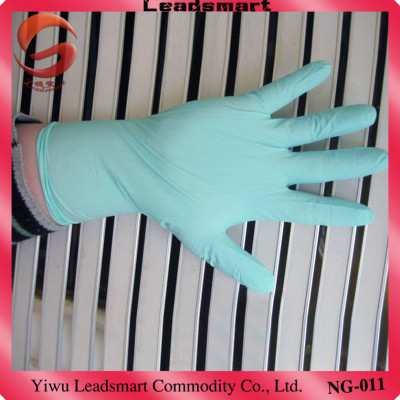 soft and comfortable nitrile disposable glove for medical exam