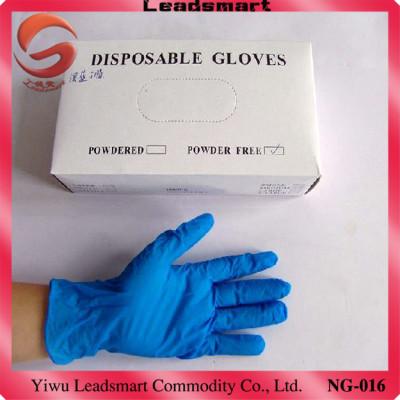 Dark Blue Disposable nitrile gloves for AQL1.5