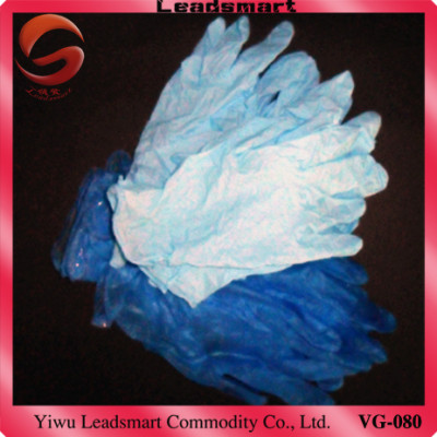 Exporting disposable food grade vinyl gloves medical grade