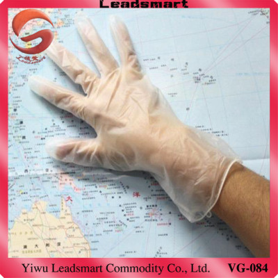 Exporting disposal vinyl surgical gloves with CE and ISO