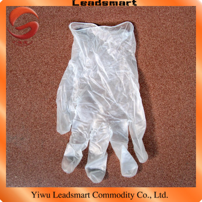 Exporting vinyl disposable hand gloves with CE and ISO