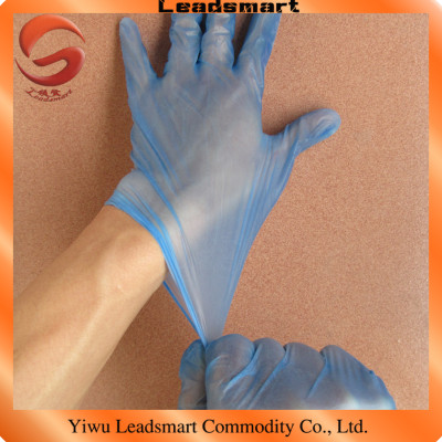 100pcs/box disposable vinyl surgical gloves with powdered