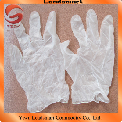 100pcs/box disposable sexy gloves vinyl with powdered