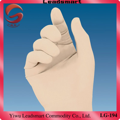 AQL1.5 non sterile latex gloves manufacturer for medical