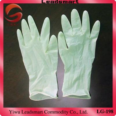 AQL1.5 disposable latex medical gloves manufacturer for medical