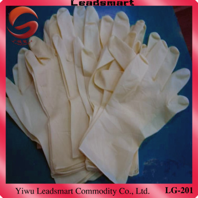 Textured Powdered Disposable  gloves latex examination supplier