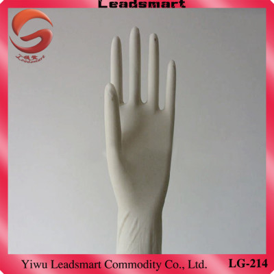 Textured Powdered latex flock lined gloves supplier