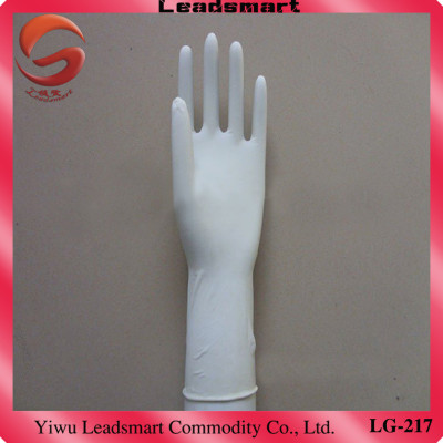 Textured Powdered recycled latex gloves supplier