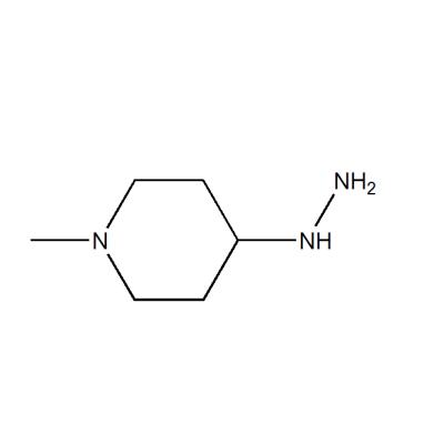 4-hydrazinyl-1-methylpiperidine