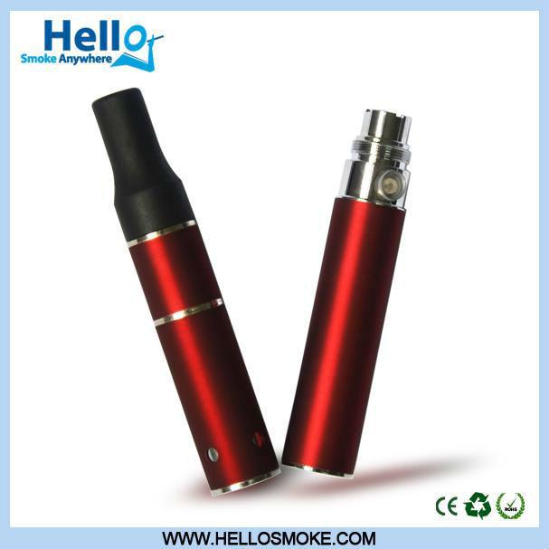 2013 más calientes de la hierba seca vaporizador cigarrillo electrónico w hello