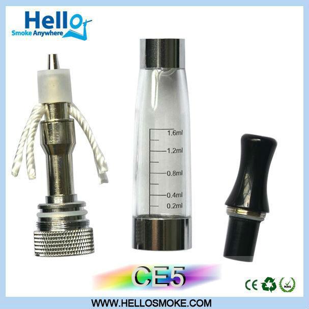 laest 2013 productos clearomizer ce5 ego atomizador en china