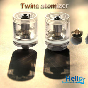 enorme 2013 vaporizador clearomizer visión de vapor electrónico fumar cigarrillos de vapor hola gemelos