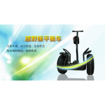 Double wheel self balancing electric unicycle