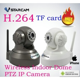 H.264 Wireless IP Camera Wifi Free 8G TF /Mircro SD Card Support IR CUT