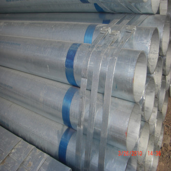 ASTM A53 galvanized welded steel pipes