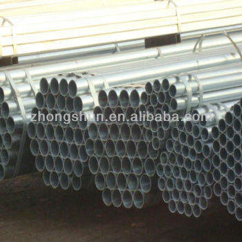 EN 10217 galvanized steel pipe