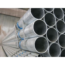 BS1387 high quality hot diped galvanized steel pipe