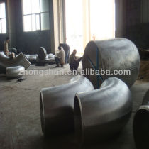ASTM large size steel elbow
