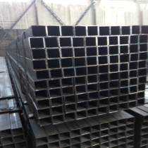 Black Square and Rectangular Steel Pipe