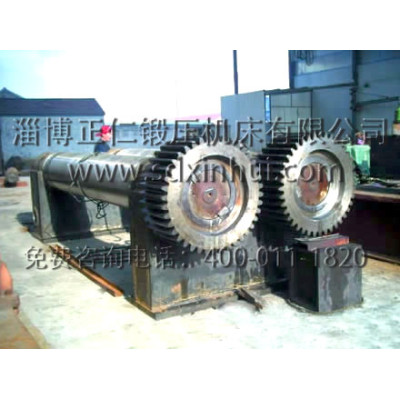 upper roller plate rolling machine