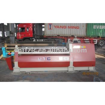 CNC 4-roller plate rolling machine