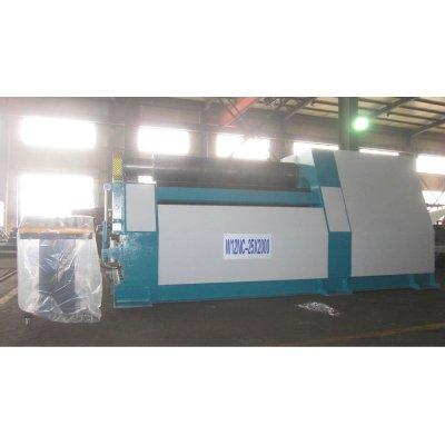 CNC 4-roller palte rolling machine W12-25x2000