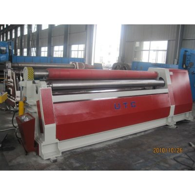 4-roller plate rolling machine ,bending machine