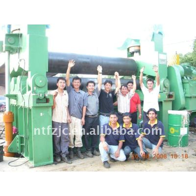 cnc roller bending machine