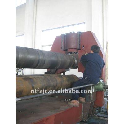 Upper-roller universal plate roling machine