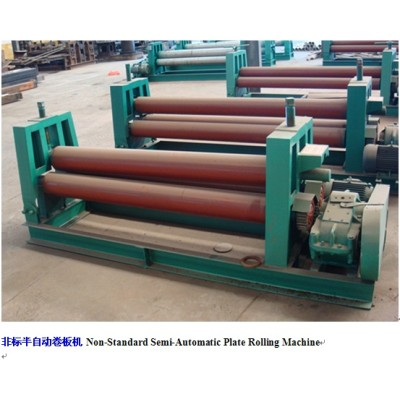 3-roller plate rolling machine