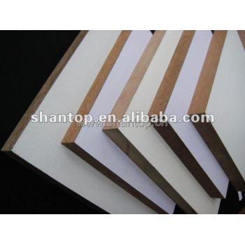 18mm White Colour Melamine MDF Sheets