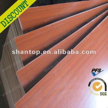 16mm melamine fiberboard for cabinet