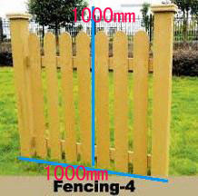 Decoration WPC Fencing