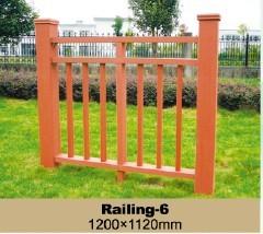 Durable WPC Railing