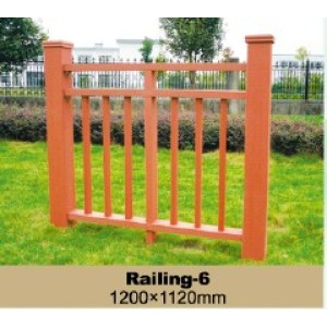 Durable WPC Railing