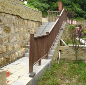 WPC railing WPC fencing Wood Plastic Composite