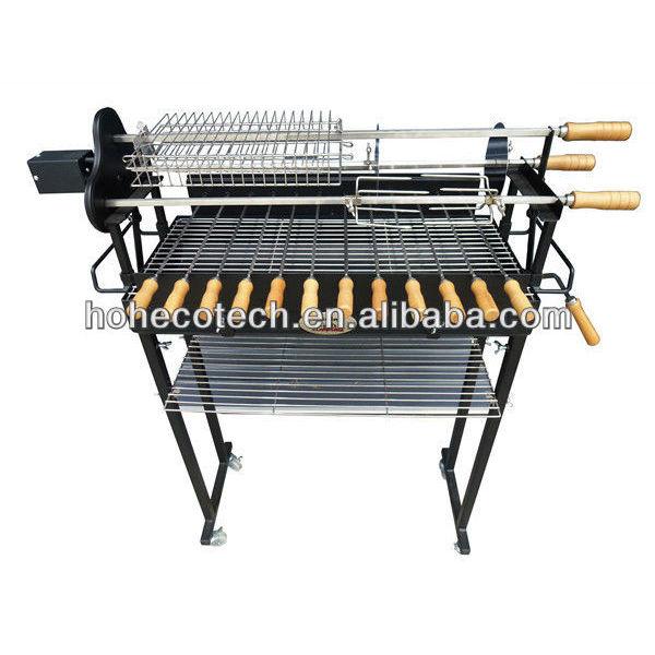 grill barbecue de charbon de bois en plein air
