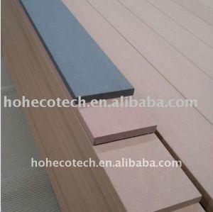 WPC ! decking extérieur du plancher WPC/bois de construction en bois composé Bois-Plastique de plancher (CE, ROHS, ASTM, Intertek)