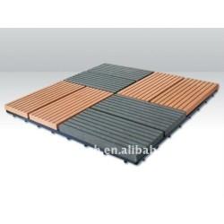 bricolaje decking azulejos suelo wpc decking compuesto decking del wpc